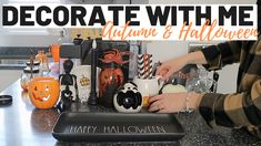 #halloween #autumndecor #halloweendecoruk Rustic Fall Decor, Halloween Inspo, Halloween Decorations, Decor Ideas, Diy, Inspiration, Biblical Inspiration, Bricolage, Do It Yourself