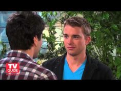 Days of Our Lives' Will and Sonny Kiss!