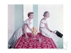 Models Jean Patchett Poster Print by Horst P. Horst at the Condé Nast Collection