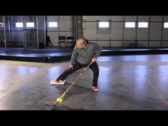 IMPROVE YOUR SKATING - Off-Ice Drill for Hockey Training - YouTube