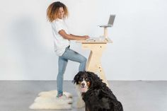 Standup desk for home office