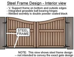 Custom Wooden Driveway Gates and Garden Gates, Fence Gates