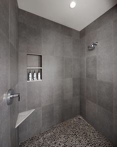 Roomy, walk-in showers for all Solage studio guests. | Solage Calistoga