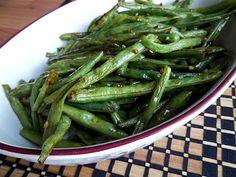Roasted Sesame Green Beans