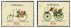 Selos - Afinsa nr 1752/1753 - Scott nr 1670/1671. - Centenário do Automóvel