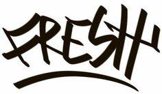 Fresh Graffiti JDM Racing | Die Cut Vinyl Sticker Decal | Sticky Addiction