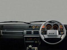 Toyota Blizzard SX5 Turbo Wagon dashboard (1985)