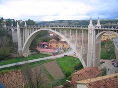 El Viaducto de Teruel Fotografia