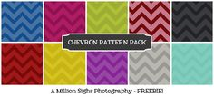 Fab & Free Free Chevron Pattern Pack & other patterns