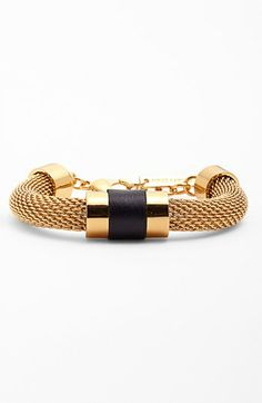 Vince Camuto 'Tour of Duty' Mesh Chain Bracelet available at #Nordstrom