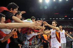 Basketball is to share the win. #galatasaray