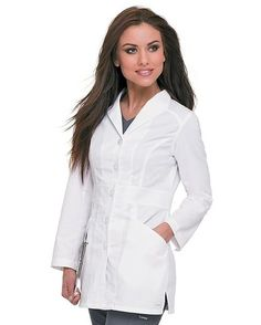 Landau Smart Stretch Signature Lab Coat