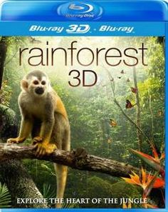 RAINFOREST 3D BLU-RAY  The 'Rainforest 3D' stunning stereoscopic documentary movie transports you deep into the awe-inspiring Central America tropical rainforest. Join scientists, as they visit Barro Colorado Island in the centre of the Panama Canal, travelling deep into nature's most stunning habitats and there you will meet the beautiful, dangerous and most intriguing of Mother Nature's creatures.