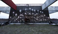 graffiti hotel abandoned 17