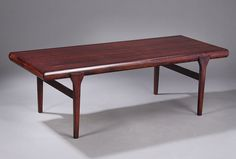 20th Century Furniture & Design| Johannes Andersen Rosewood Coffee Table in...