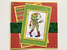 Rick St Dennis - Creeomas Elf My DT card for Dark n Daring Elf Me, Dares, Frame, Crafts, Home Decor, Picture Frame, Manualidades, Decoration Home, Room Decor