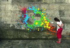 Urban Origami Murals in Vietnam, Hong Kong and France by Mademoiselle Maurice (11 Pictures)