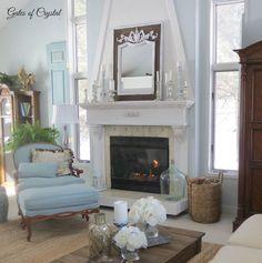 DIY Beautiful Cottage Living Room Makeover !