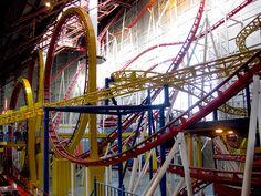 West Edmonton Mall - shopping, roller coaster, water park......