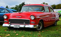1955 Chevy Bel Air, 1955 Chevrolet, Old Cars, Motor, Classic Cars, Houses, Trucks, Facebook, Nice
