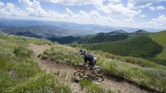 guided mountain bike tours with jans in park city utah