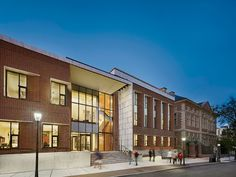 Golkin Hall, Penn Law School by Kennedy & Violich Architecture  http://archrecord.construction.com/projects/building_types_study/universities/2012/Golkin-Hall-Penn-Law-Kennedy-Violich-Architecture.asp?bts=CU#