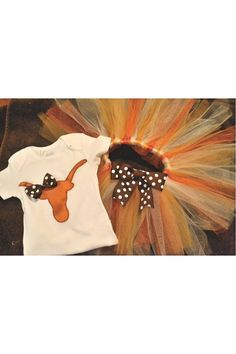 Hey, I found this really awesome Etsy listing at https://www.etsy.com/listing/182024067/texas-longhorn-shirt-onesie-tutu-outfit