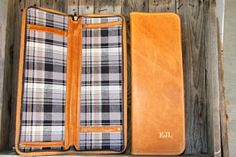 ***Neck-Tie Travel Case***  ---HANDMADE in the USA--- Send your man off right on his next work trip with a safe place to keep his ties