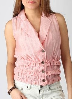 it is a really pretty top and i can guess one can wear it for both formal and informal occasions..