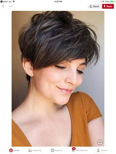 Today we have the most stylish 86 Cute Short Pixie Haircuts. We claim that you have never seen such elegant and eye-catching short hairstyles before. Pixie haircut, of course, offers a lot of options for the hair of the ladies'… Continue Reading → Long Pixie Hairstyles, Short Pixie Haircuts, Short Hairstyles For Women, Short Hair Cuts, Layered Hairstyles, Hairstyles Haircuts, Short Bangs, Latest Hairstyles, Brown Hairstyles