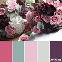 Blushing Bride #patternpod #patternpodcolor #color #colorpalettes