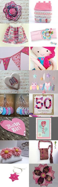 Pink Tuesday  by Vicky on Etsy--Pinned with TreasuryPin.com