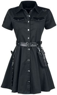 Seven Nation Army Kpop Fashion Outfits, Girls Fashion Clothes, Edgy Outfits, Cute Casual Outfits, Pretty Outfits, Beautiful Outfits, Girl Fashion, Girl Outfits, Alternative Outfits