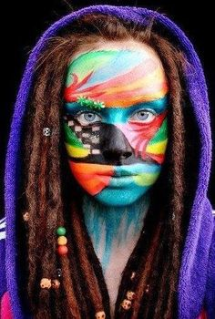 Wow, very cool paint job