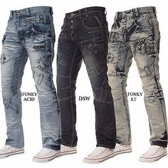Ripped Jeans Style, Patched Jeans, Denim Jeans Men, Casual Jeans, Jeans Fit, Star Clothing, Clothing Co, Riding Pants, Biker Jeans