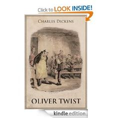 Oliver Twist: A dark novel deals with burglary, kidnapping, child abuse, prostitution, and murder. Alongside this gallery of horrors are the corrupt & incompetent institutions of 19th-century England set up to address social problems, instead made them worse. The author's moral indignation drives the creation of some of his most memorably grotesque characters: squirming, vile Fagin; brutal Bill Sykes; the brooding, sickly Monks; and Bumble, the pompous and incorrigibly dense beadle.