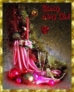 ivulinka3 - Fotoalbum - Silvestr,Nový rok - Silvestr,Nový rok 1 Merry Christmas To You, Christmas And New Year, Vintage Christmas, Christmas Tree, Christmas Ornaments, Christmas Candle, Holiday Wallpaper, Free Photography, New Year 2020