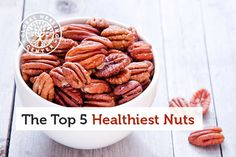 For many years, nuts have gotten a bad rap for being high in fat. But in reality, nuts should be a vital part of our diet, as they are high in monounsaturated fats that help keep us heart-healthy and disease-free. Get Healthy, Healthy Tips, Health And Wellness, Health Fitness, Nutritional Supplements, Food Lists, Anti Aging, Healthy Living, Easy Meals