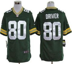 "$23.88 at ""MaryJersey""(maryjerseyelway@gmail.com) Nike Packers #80 Donald Driver Green Team Color Men's Embroidered NFL Game Jersey"