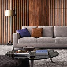 Earthy colors such as greys, browns and natural hues help to create restful an cosy settings.    #minotti #design #rodolfodordoni #madeinitaly #italianbrand #design #italianstyle #luxury #italianbrand #shooting #designinterior #designlovers #italianstyle #decoration #picoftheday #homedecor #living #sofa #interiorinspiration #interiorstyling #homedesign #moodboard #colorinspiration #earthypalette
