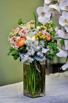 Multicolor Centerpieces - Twinbrook Floral Design - Fairfax Virginia Flowers and more
