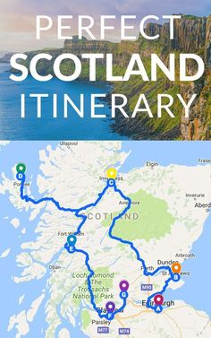 Scotland is an Incredible, Wild, Historic, Mystical Country that Just Begs to be Visited. If Scotland is Calling you, I�ve got the Perfect Scotland Itinerary for You. #ITravel #Familytravel