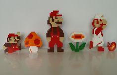 8-Bit Lego Super Mario Brothers