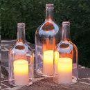 DIY: Cómo cortar las botellas de cristal y otras ideas para reciclar materiales que tenemos en casa