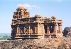 https://flic.kr/p/E2L5d | Badami temple, Karnataka, India | Just one of a group of temples in and around the village of Badami, Karnataka, which was the capital of the Chalukyan Kings from AD543 to 757