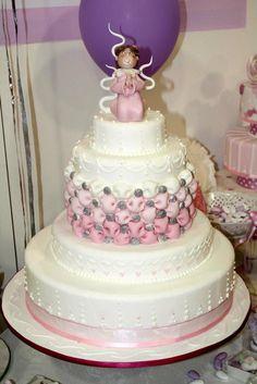 #idea: cake #modelling per la prima #comunione torta della pasticceria La Mimosa di http://www.simocakedesigner.it