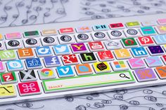 macbook decal Laptop decal macbook keyboard by creativedecalskin, $12.99