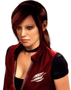 PNG Photorealistic Claire Redfield by push-pulse.deviantart.com on @deviantART