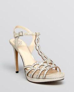 7512646d311 VINCE CAMUTO Open Toe Ankle Strap Platform Evening Sandals - Cristiana  Crystal High-Heel Shoes - Evening   Wedding - Bloomingdale s