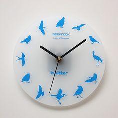 Fashion Twitter (Bird) Wall Clock